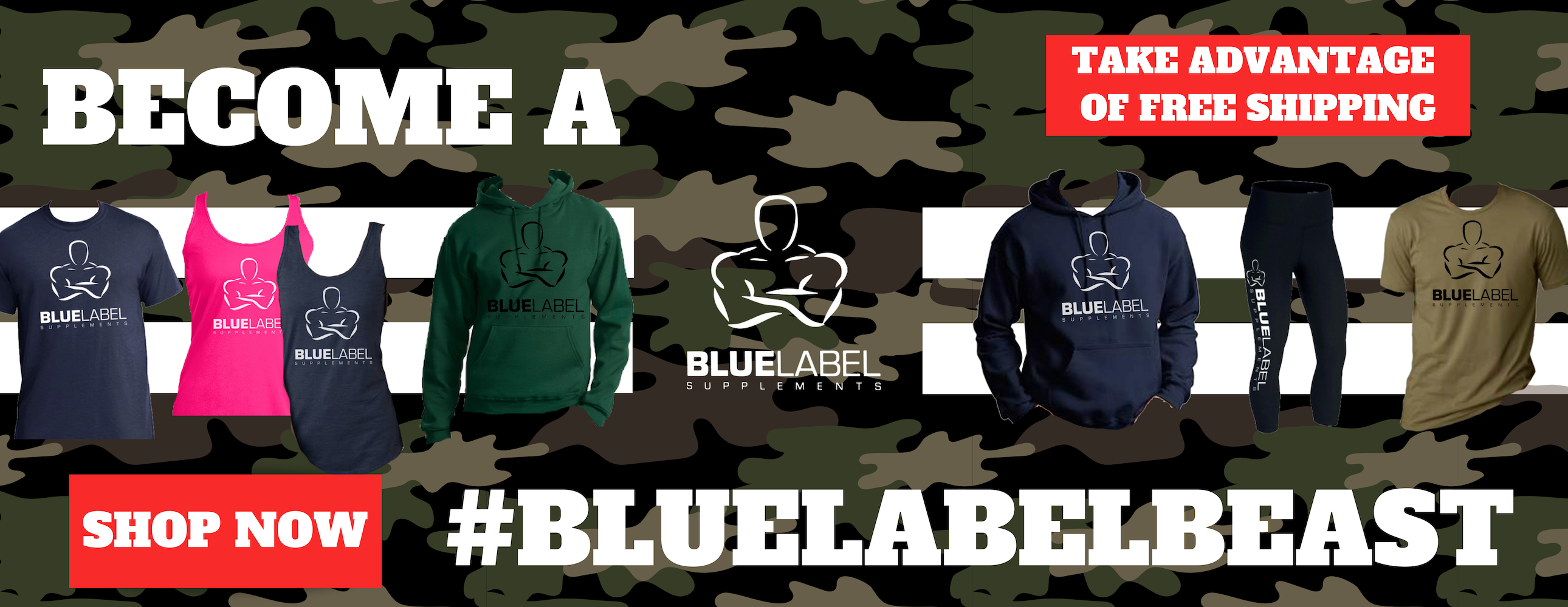 Become A Blue Label Beast